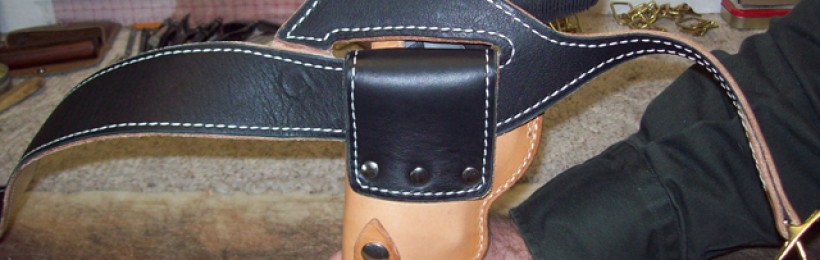 How Holster Attaches to Shoulder Belt